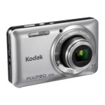 PIXPRO Friendly Zoom FZ51 - Digital camera - High Definition - compact - 16.15 MP - 5 x optical zoom - blue