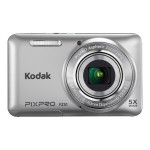 PIXPRO Friendly Zoom FZ51 - Digital camera - compact - 16.15 MP - 720p - 5 x optical zoom - silver