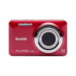 PIXPRO Friendly Zoom FZ51 - Digital camera - High Definition - compact - 16.15 MP - 5 x optical zoom - red