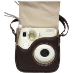 Fujifilm Leather Camera Case for the Instax Mini 8 - Brown 600011722