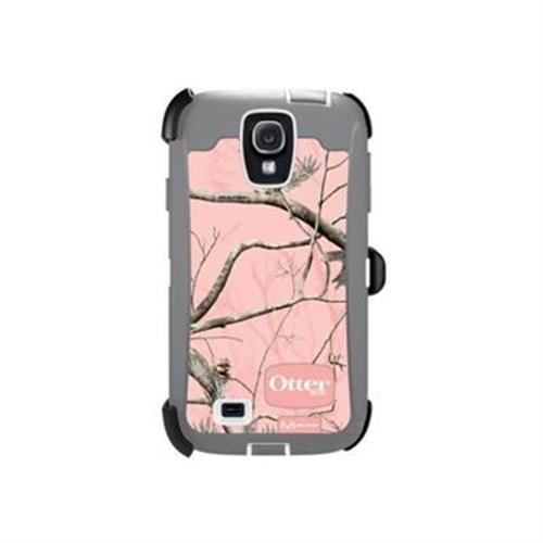 Otterbox Galaxy S4 Defender Series Realtree Case - RealTree AP Pink