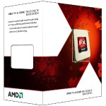 Advanced Micro Devices Black Edition -  FX 4350 - 4.2 GHz - 4 cores - 8 MB cache - Socket AM3+ - Box FD4350FRHKBOX