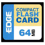 Edge Memory 64MB Premium CompactFlash Card PE179441