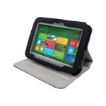 Infocase Toughmate Professional Portfolio - Protective cover for tablet - vinyl - black - for Toughpad FZ-G1