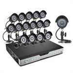 Citrix Sys 16CH DVR 600TVL Outdoor Night Vision Security Camera System-1TB Hard Drive 4019737-E2
