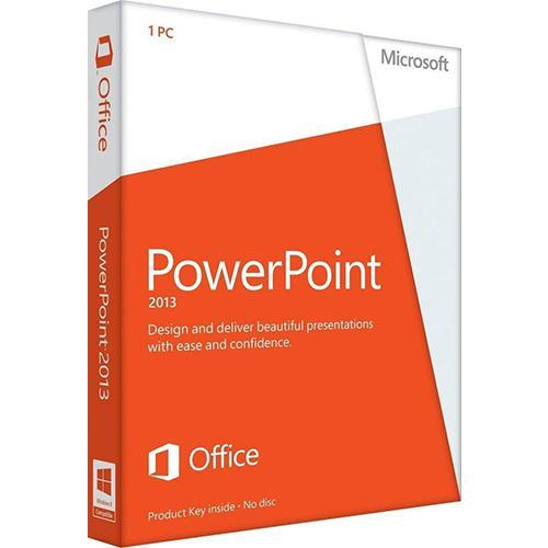 Microsoft PowerPoint 2013 - Spanish - Windows (Electronic Software Download Version)