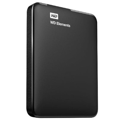 WD 1TB Elements Portable Hard Drive - USB 3.0 (WDBUZG0010BBK-NESN)