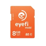 Eye-Fi Mobi 8GB WiFi SDHC CARD + FREE 90 days Eyefi Cloud MOBI-8