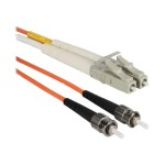 Patch cable - ST multi-mode (M) to LC multi-mode (M) - 3.3 ft - fiber optic - 62.5 / 125 micron - orange