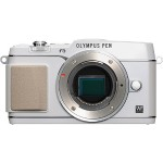 Olympus E-P5 - Digital camera - High Definition - mirrorless system - 16.1 MP - body only - Wi-Fi - white V204050WU000