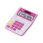 MS-10VC - Desktop calculator - 10 digits - solar panel, battery - green