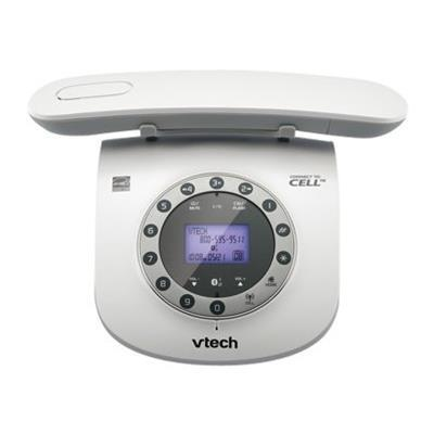 Vtech Communications Retro Phone LS6191 - cordless phone - answering system - Bluetooth interface with caller ID/call waiting (LS6191)