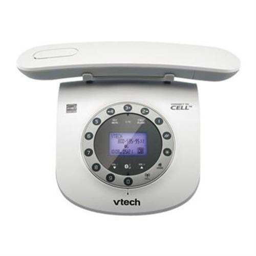 Vtech Communications Retro Phone LS6191 - cordless phone - answering system - Bluetooth interface with caller ID/call waiting
