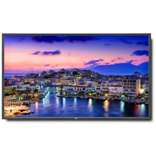 "NEC Displays 80"" High-Performance LED Edge-Lit Commercial-Grade Display with Integrated Speakers"