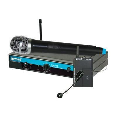 GCI TechnologiesGemini UHF-116M - wireless microphone system(UHF-116M)