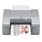 Epson ColorWorks C831 - Label printer - color - ink-jet - 9.5 in (width) - 720 x 720 dpi - up to 16.5 ppm (mono) / up to 16.5 ppm (color) - parallel, USB 2.0, LAN C11CC68122