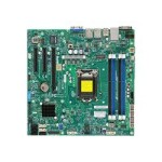 SUPERMICRO X10SLL-F - Motherboard - micro ATX - LGA1150 Socket - C222 - USB 3.0 - 2 x Gigabit LAN - onboard graphics