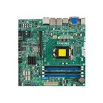 Super Micro SUPERMICRO X10SLQ - Motherboard - micro ATX - LGA1150 Socket - Q87 - USB 3.0 - 2 x Gigabit LAN - onboard graphics (CPU required) - HD Audio (8-channel) MBD-X10SLQ-O