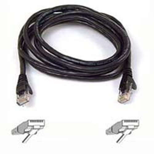 Belkin 25 ft. High Performance Category 6 Snagless Patch Cable - Black
