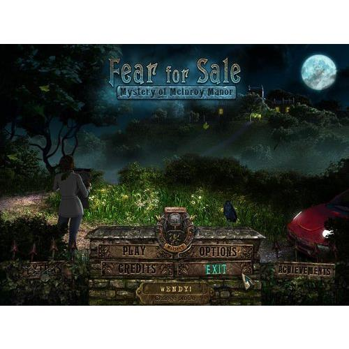 Big Fish Games Fear For Sale: Mystery Of Mcinory Manor Win (Electronic Software Download Version)
