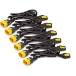0.6M POWER CORD KIT 6EA LOCKING
