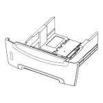 Lexmark Optional tray - 550 sheets in 1 tray(s) - for E240, 240n, 240t, 240tn, 340, 342n, 342tn 40X1342