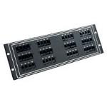 Patch panel - 2U - 24 ports