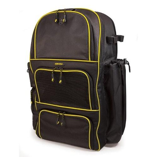 Mobile Edge Deluxe Baseball / Softball Gear Bag - Black / Yellow