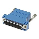 Serial RS-232 adapter - RJ-45 (F) to DB-25 (F) - blue