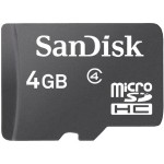 4GB microSD High Capacity Memory Card