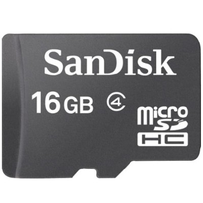 Sandisk16GB Standard microSD Flash Memory Card(SDSDQ-016G-A46)