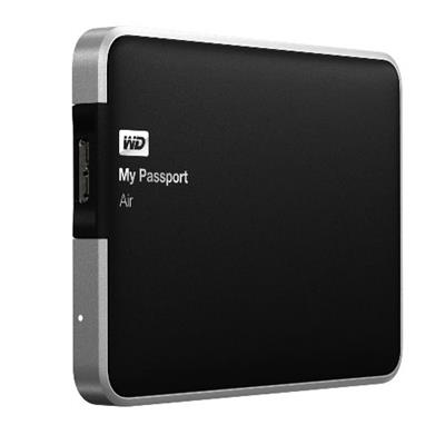 WD My Passport Air 500GB Portable USB 3.0 Mac External Hard Drive Storage (WDBBLW5000AAL-NESN)