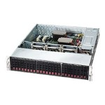 Supermicro SC216 BAC-R920LPB - Rack-mountable - 2U - enhanced extended ATX - SATA/SAS - hot-swap 920 Watt - black