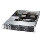 Supermicro SC828 TQ-R1K43LPB - Rack-mountable - 2U - SATA/SAS - hot-swap 1400 Watt - black