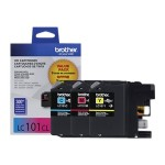 LC1013PKS - Yellow, cyan, magenta - original - ink cartridge - for  DCP-J152, MFC-J245, J285, J450, J470, J475, J650, J870, J875