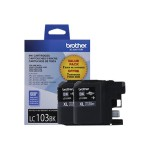 LC1032PKS - 2-pack - High Yield - black - original - ink cartridge - for  DCP-J152, MFC-J245, J285, J450, J470, J475, J650, J6520, J6720, J6920, J870, J875