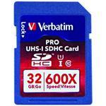 32GB PRO 600X SDHC UHS-1 Memory Card