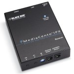 MediaCento IPX PoE Unicast Receiver - Video/audio extender - Ethernet, Fast Ethernet, Gigabit Ethernet - 10Base-T, 100Base-TX, 1000Base-T - up to 328 ft