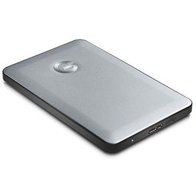 G-Technology 500GB G-DRIVE Slim USB 3.0 External Hard Drive (0G02361)
