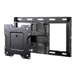 "OC120FM - Mounting kit ( full motion mount, 4 VESA adapters ) for LCD / plasma panel - black - screen size: 43""-70"""