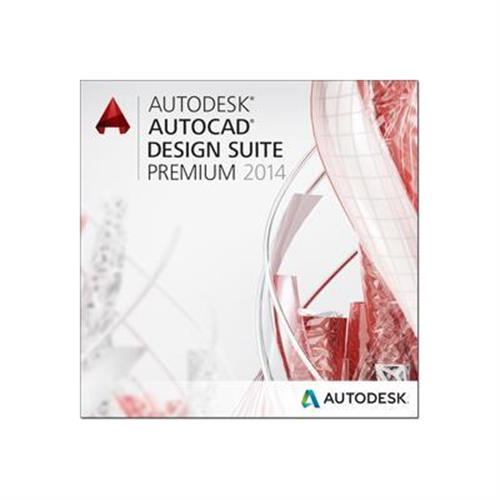 Autodesk AutoCAD Design Suite Premium 2014 Commercial Upgrade from Current Version Additional Seat