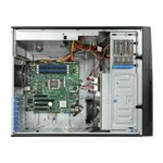 "Server System P4308RPLSHDR - Server - tower - 1-way - RAM 0 MB - SATA/SAS - hot-swap 3.5"" - no HDD - GigE - monitor: none"