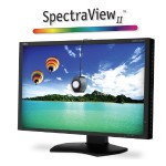 "24"" Color Critical Wide Gamut Desktop Monitor with SpectraViewII"