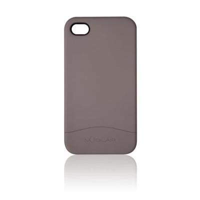 AeroVoiceiPhone 4/4S Hard Case - Grey(CAS-IP4HCGY)