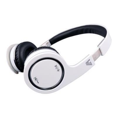 V7 Bluetooth Wireless Headset - headset (HS-6000-BT-WHT-9NC)