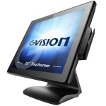 "GPOS - All-in-one - 1 x Atom D2550 / 1.86 GHz - RAM 2 GB - HDD 320 GB - GigE - Win Embedded POSReady 7 - monitor: LCD 15"" 1024 x 768 (XGA) touchscreen"