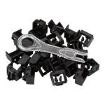 LockPORT Secure Port Locks - Outlet port lock kit - (pack of 25 )