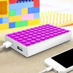 4000 Mah Power Block Dual Charger - Pink