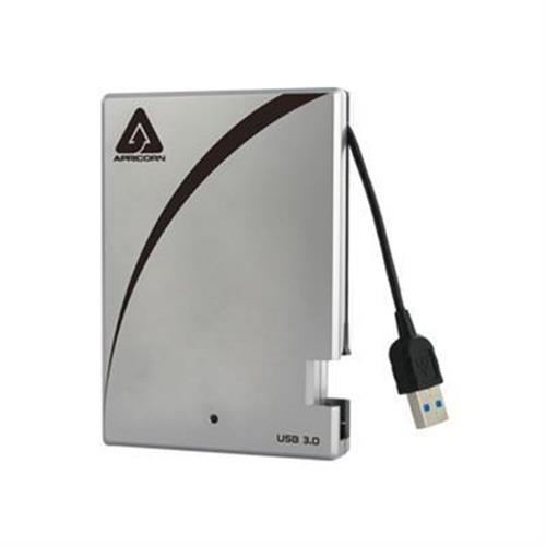 Apricorn Aegis Portable 3.0 A25-3USB-500 - hard drive - 500 GB - USB 3.0