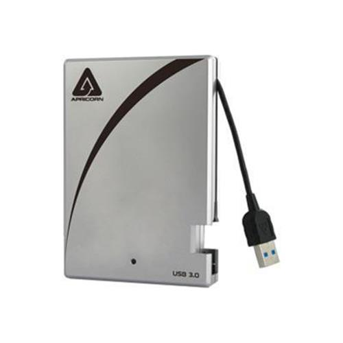 Apricorn Aegis Portable A25-3USB-S512 - hard drive - 512 GB - USB 3.0